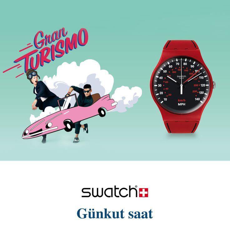 Bahar aylarını, yeni Swatch modelleri ile karşılamaya hazır mısınız?  Ürünlerimizi incelemek için;  http://www.gunkutsaat.com/pinfo.asp?pid=48070