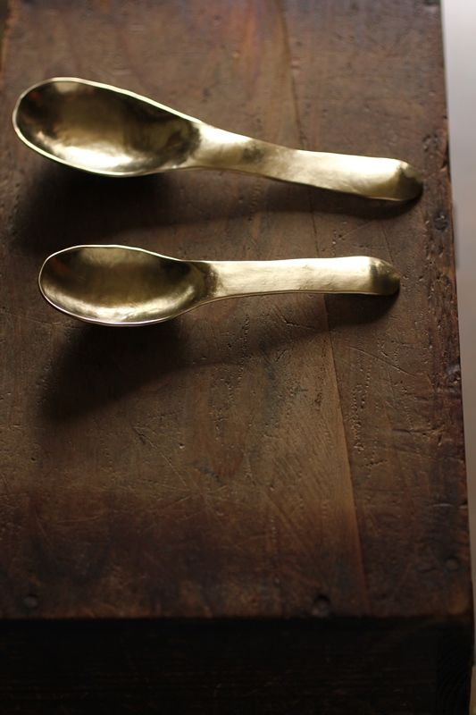 Brass Spoon   IRRE