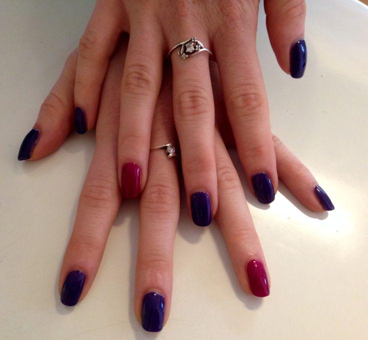 Calgel nails #nails #gel #manicure #calgel #colour