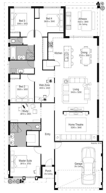 2d home design. The Tuscany is a Spacious Home Design at and Includes 4 Bed  2 Bath It Huge Family Without the Matching Price Tag 32 best House Plans images on Pinterest design Floor plans