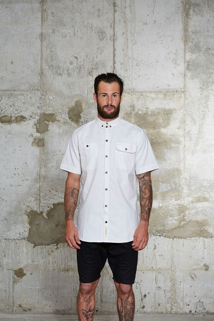 wolfgang and sons - Preservation Shirt | White