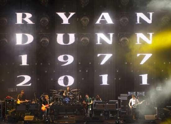 Kings of Leon's tribute to Ryan Dunn. <3