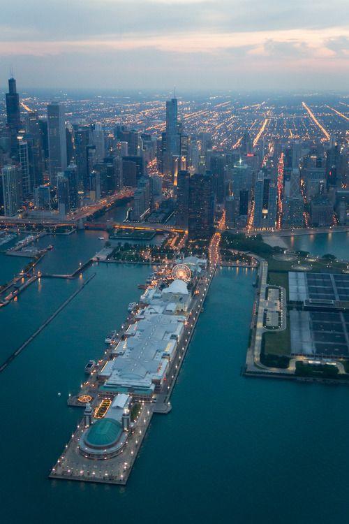 Navy Pier - Chicago by `IaiaRose