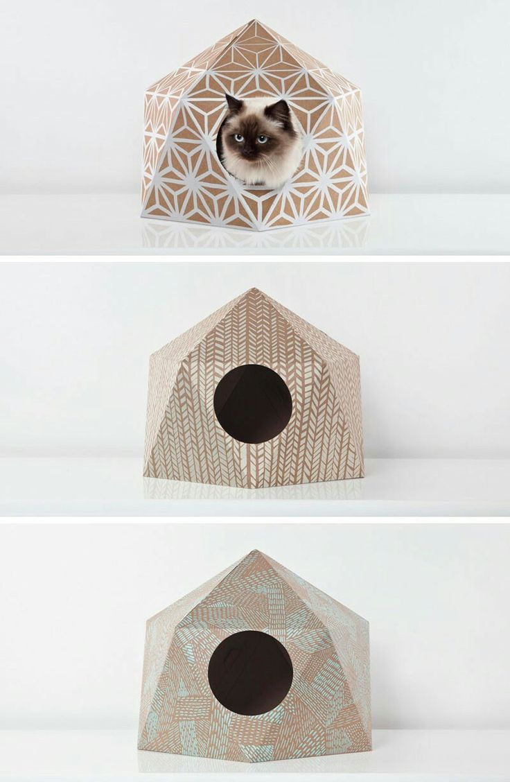 Cardboard Cat Caves