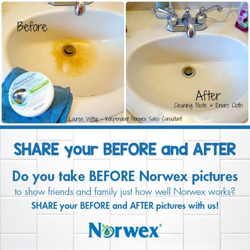 """Are you a dedicated #Norwex user? Do you take """"BEFORE cleaning"""" pictures to show friends and family just how well Norwex works? SHARE your BEFORE and AFTER pictures in the comments below!"""