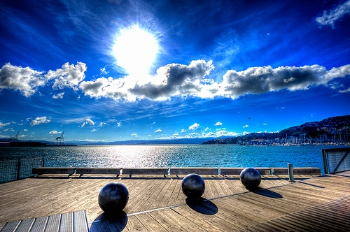 Wellington Waterfront, New Zealand. Harry and I walked from the Bolton to the ferry docks, then along the beautiful bayside. What a lovely day with this handsome , gentle, witty and interesting man!
