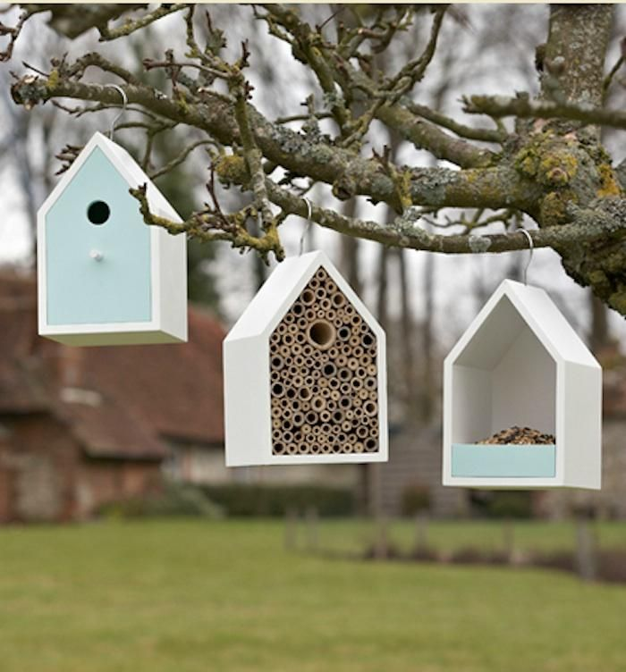 Sophie Conran Wildlife Havens. I'm such a sucker for a sweet bird house!