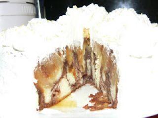Tort cu mere si frisca - Rețetă Petitchef