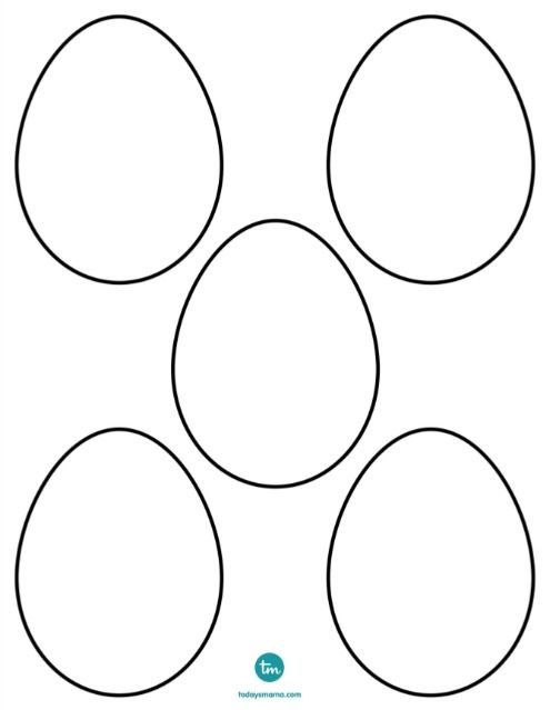 25 best ideas about easter egg template on pinterest easter