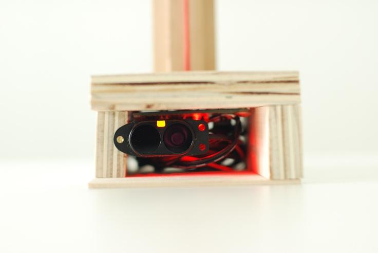 Sensor in LED Light.