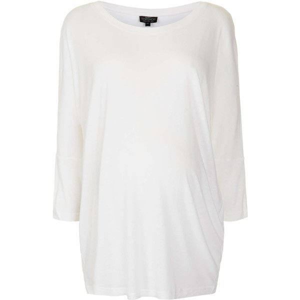 TOPSHOP Maternity White Oversized Tee ($36) ❤ liked on Polyvore featuring maternity, maternity clothes, maternidad and white