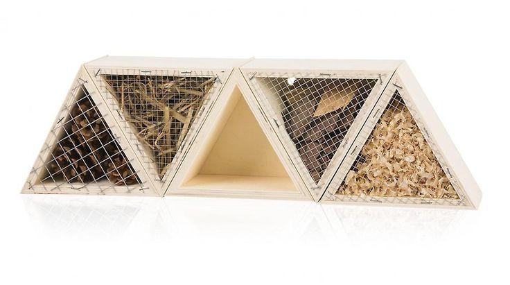 Modulares Insektenhotel DORADO Bienenhotel Nistkasten Brutkasten Insekten Echtholz | Vogelfutterspender | Fruugo Schweiz