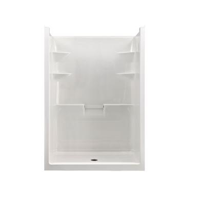 Mirolin   Melrose 5 Acrylic 1 piece Shower Stall  Centre Drain   MEL5C. 16 best Walk in Shower images on Pinterest   Shower stalls