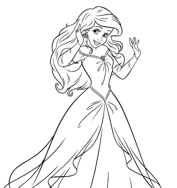 Top 25 Disney Princess Coloring Pages For Your Little Girl Coloring In 2020 Princess Coloring Pages Printables Disney Princess Coloring Pages Mermaid Coloring Pages