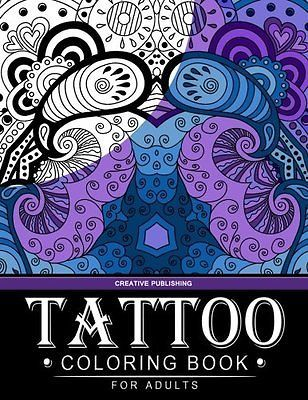Tattoo Coloring book for adults: Creative Publishing - The Best Coloring Books For Adults (Volume 2)