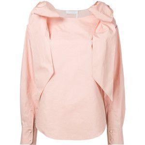 Chloé bow shoulder blouse