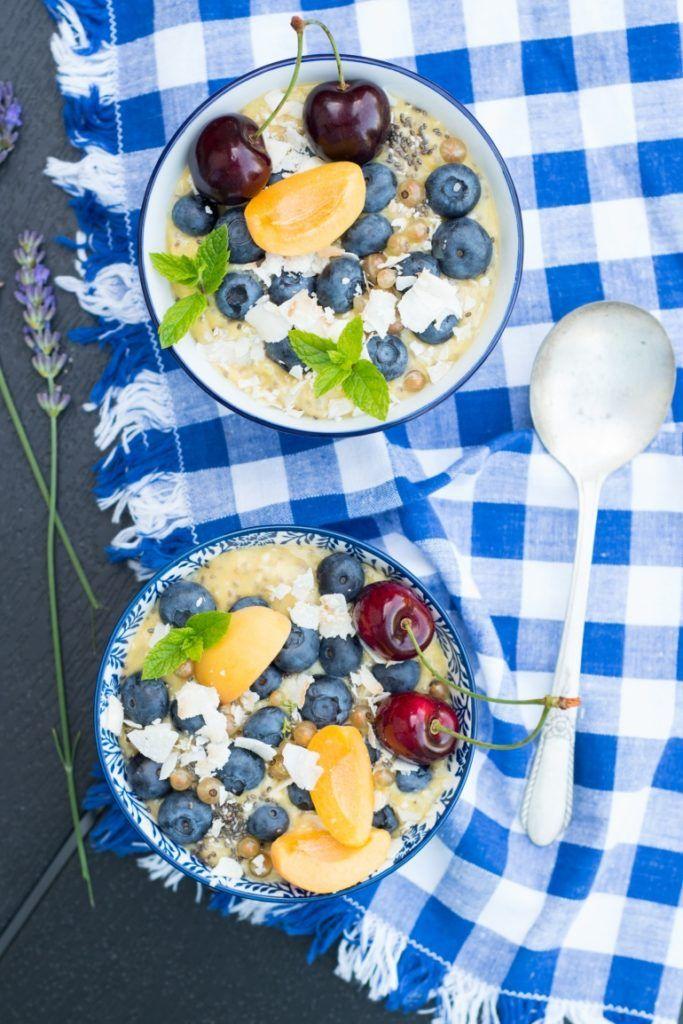 """Miska pełna zdrowia czyli mango """"smoothie bowl"""" z chia - Kuchnia Agaty - najsmaczniejszy blog kulinarny!"""