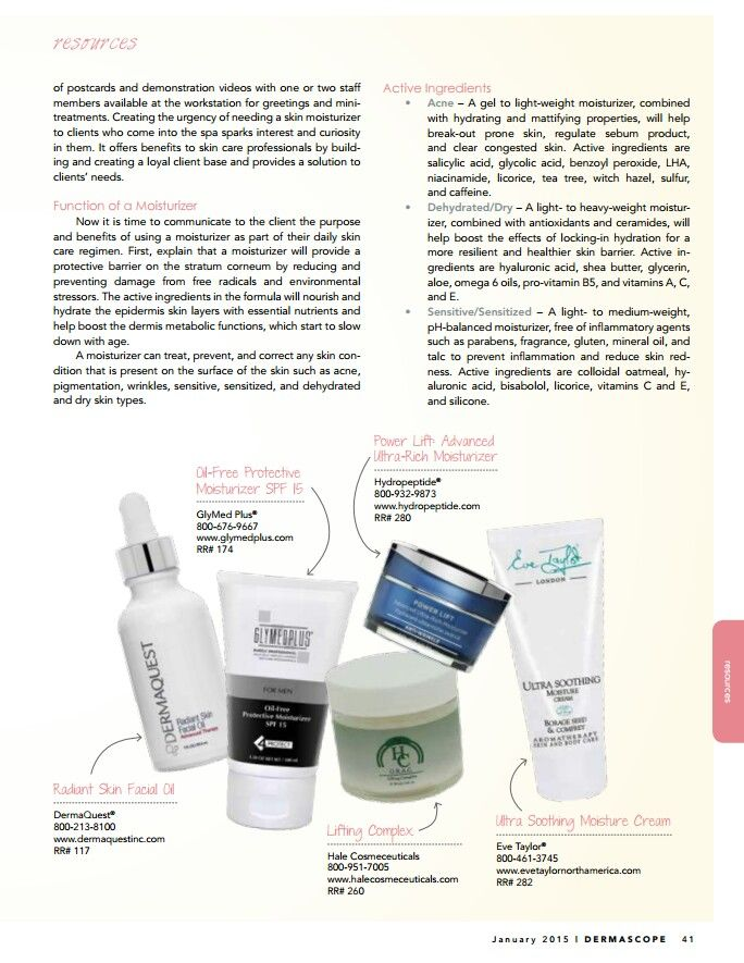 PART 3: How-to choose a moisturizer for your skin type. Featured editorial on Dermascope Magazine.  #skincare #skintips #magazine #skincareproducts #moisturizer #skintypes