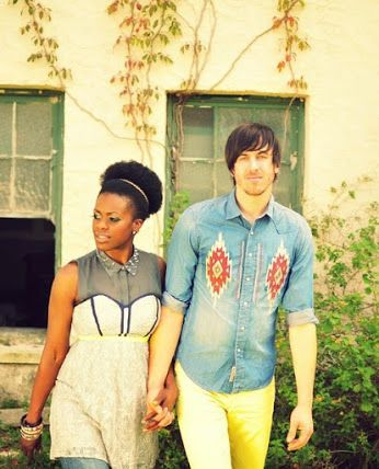 Lovely interracial couple with retro flair #love #wmbw #bwwm
