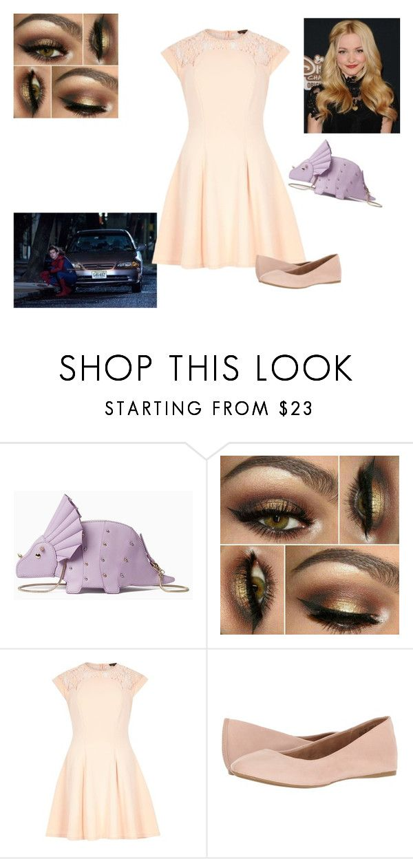 """Party Fail"" by holly-longbottom ❤ liked on Polyvore featuring Kate Spade, Marvel, River Island and G.H. Bass & Co."