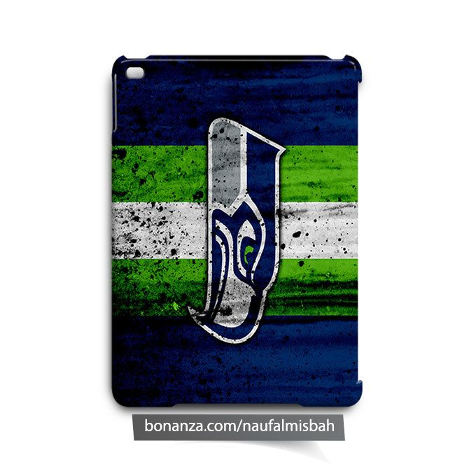 Seattle Seahawks Paints iPad Air Mini 2 3 4 Case Cover