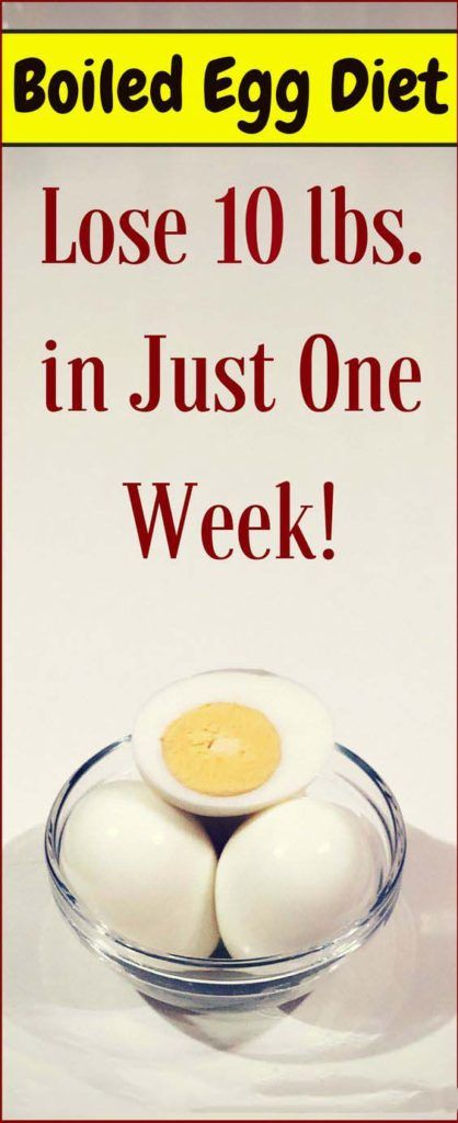 Lose 10 lbs. in Just One Week with This Boiled EGG Diet!
