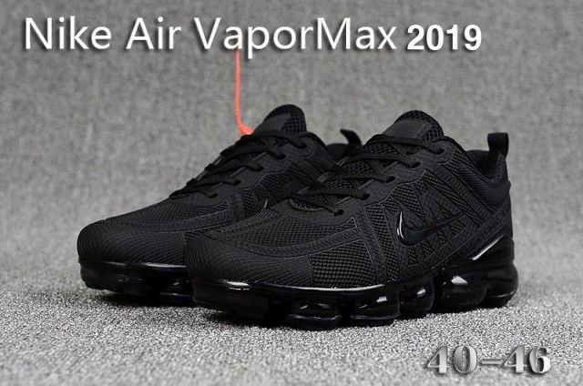 nike vapormax 2019 all black
