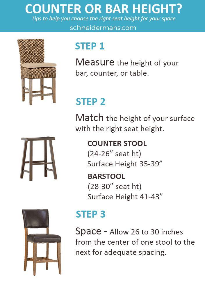 Best 25+ Bar stool height ideas on Pinterest Breakfast bar - stool color chart
