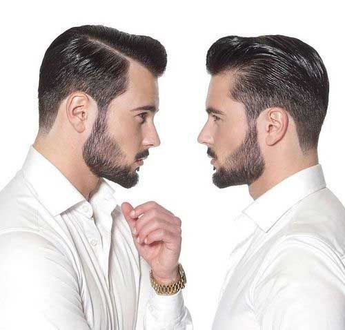 Mens Pompadour Hair