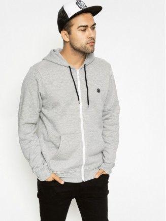 Bluza z kapturem Element Nova ZHD (grey heather)