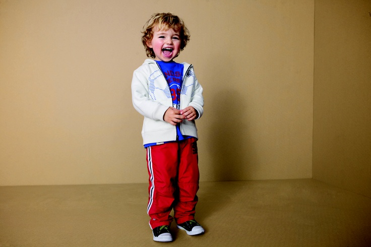 #LookoftheWeek: Athletic pants and active tops for boys.