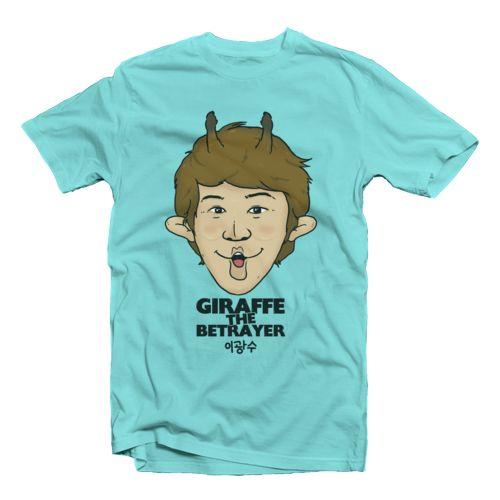Giraffe The Betrayer Oleh Running Man Merch
