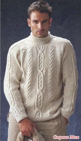 Всем приветик!!! Начало этой серии постов, про вязание свитеров из разных стран, было здесь http://www.stranamam.ru/  Сегодня будем смотреть как вязать Ирландский реглан.