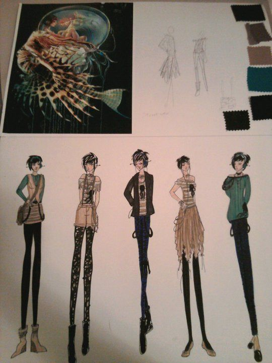 10 Best Images About Fashion Storyboard Examples On