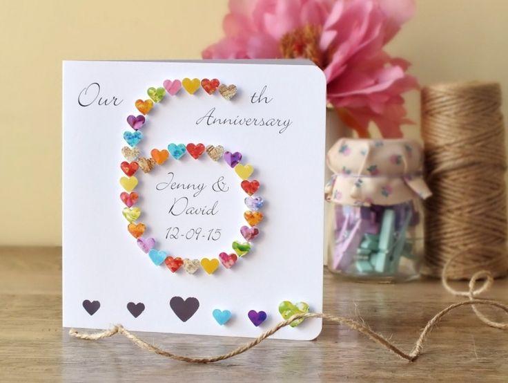 6 Wedding Anniversary Gift: 25+ Unique 6th Wedding Anniversary Ideas On Pinterest