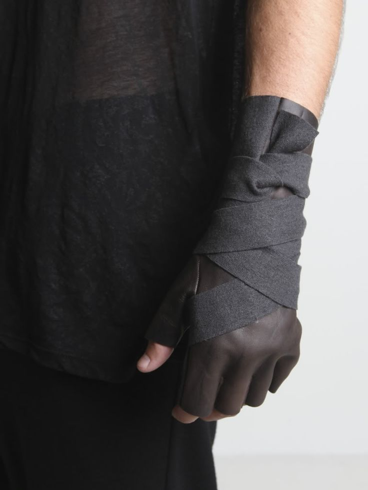 leather fingerless gloves brown - Google zoeken