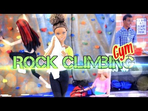 Download Video: DIY   How To Make: Doll Room In A Box: Rock Climbing Gym    Handmade   Craft Part 90