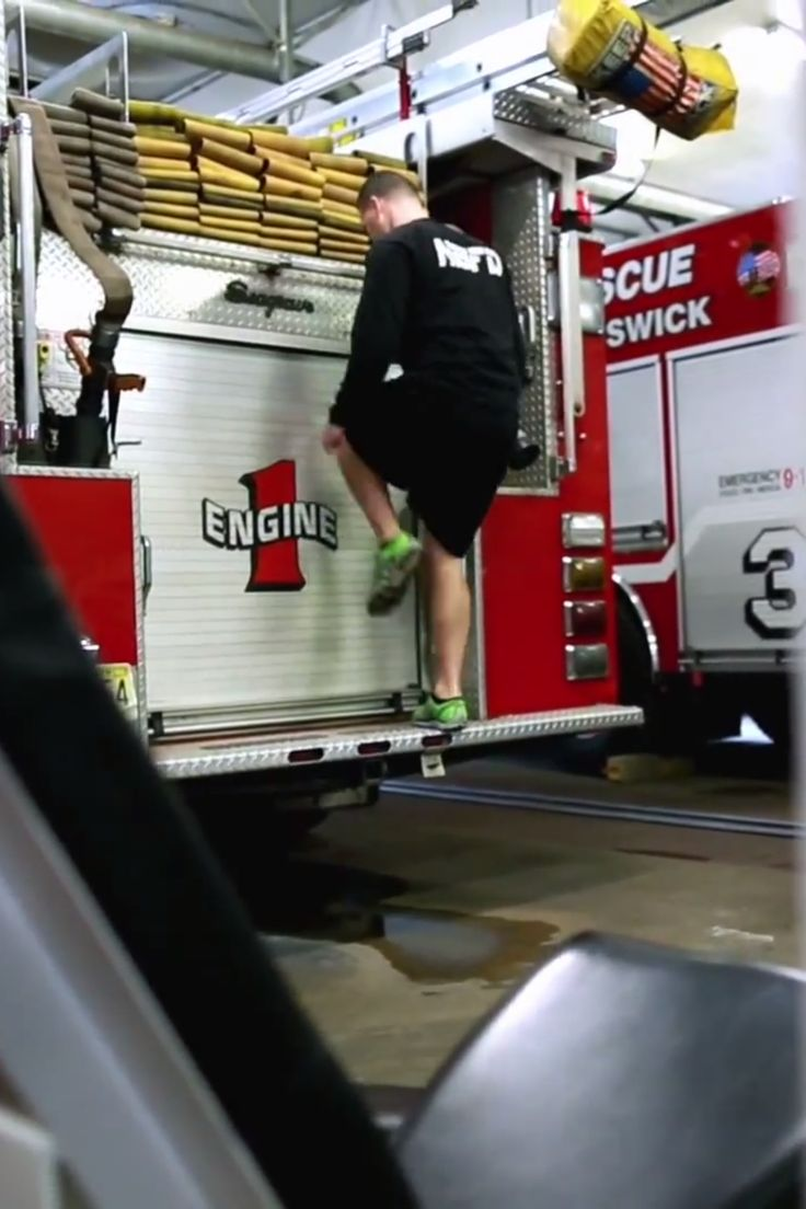 These Firefighters Use Emergency Equipment to Keep Fit For Duty