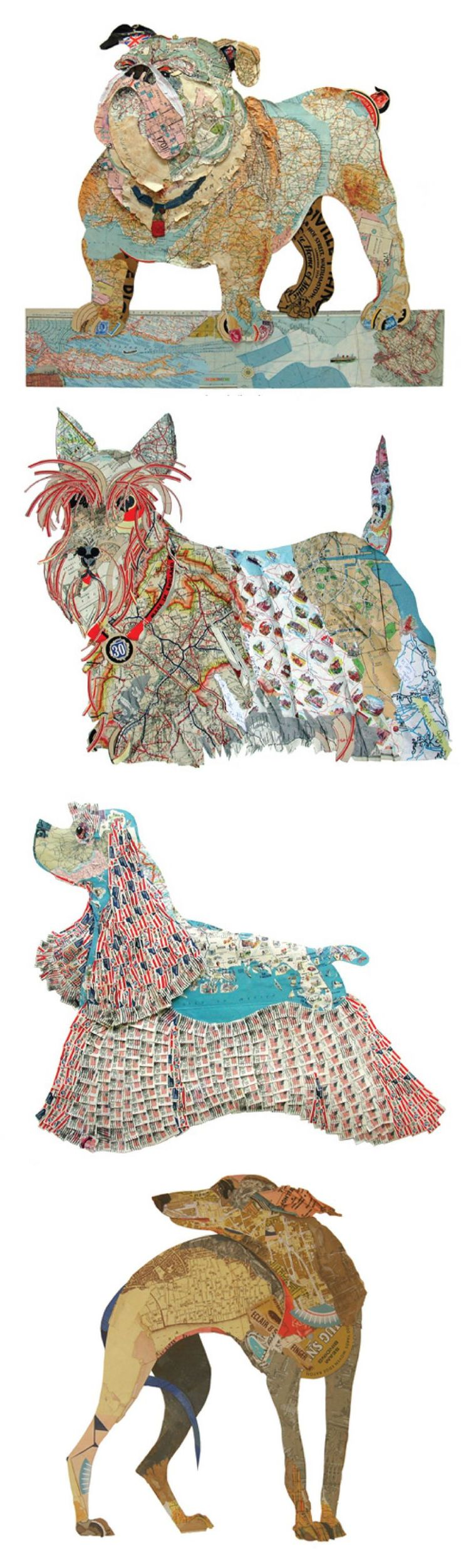 PeterClark Collage Dogs! I love the one at the bottom.