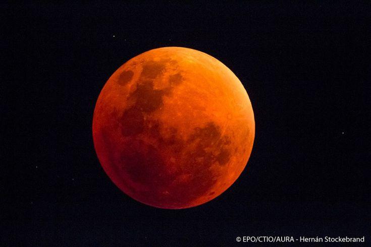Dos espectaculares secuencias del eclipse total lunar del pasado 28 de septiembre!