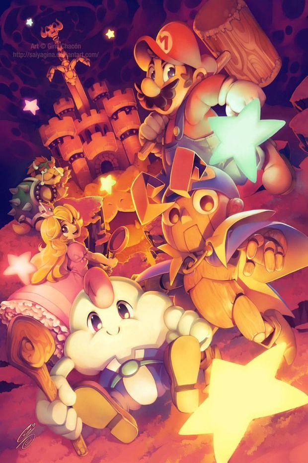 8a6da6feba5 Super Mario RPG  Legend of the Seven Stars by Gina Chacón