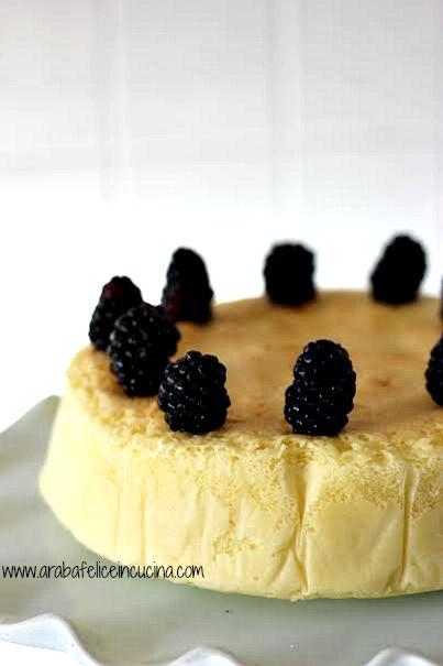 Japanese Cotton Cheesecake, ovvero il cheesecake che è una nuvola!