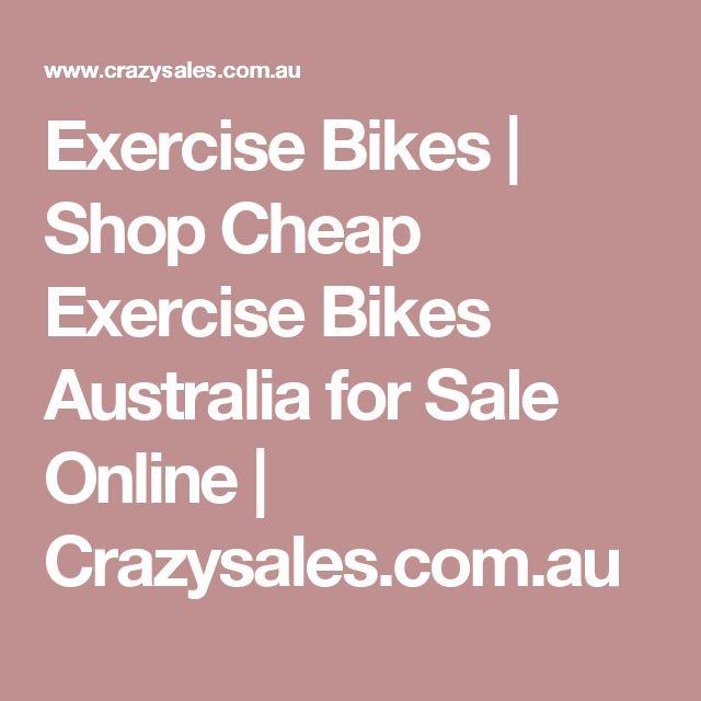 Exercise Bikes | Shop Cheap Exercise Bikes Australia for Sale Online | Crazysales.com.au