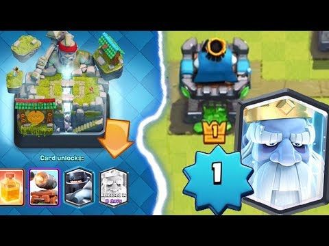 Pushing on my level 1 account to Hog Mountain Arena 10 in Clash Royale. If we can make it we can unlock the Royal Ghost and buy it from a Legendary King's Chest! NEW CHANNEL:  Follow me on Twitter: https://www.twitter.com/camarobrogaming Follow me on Instagram:...