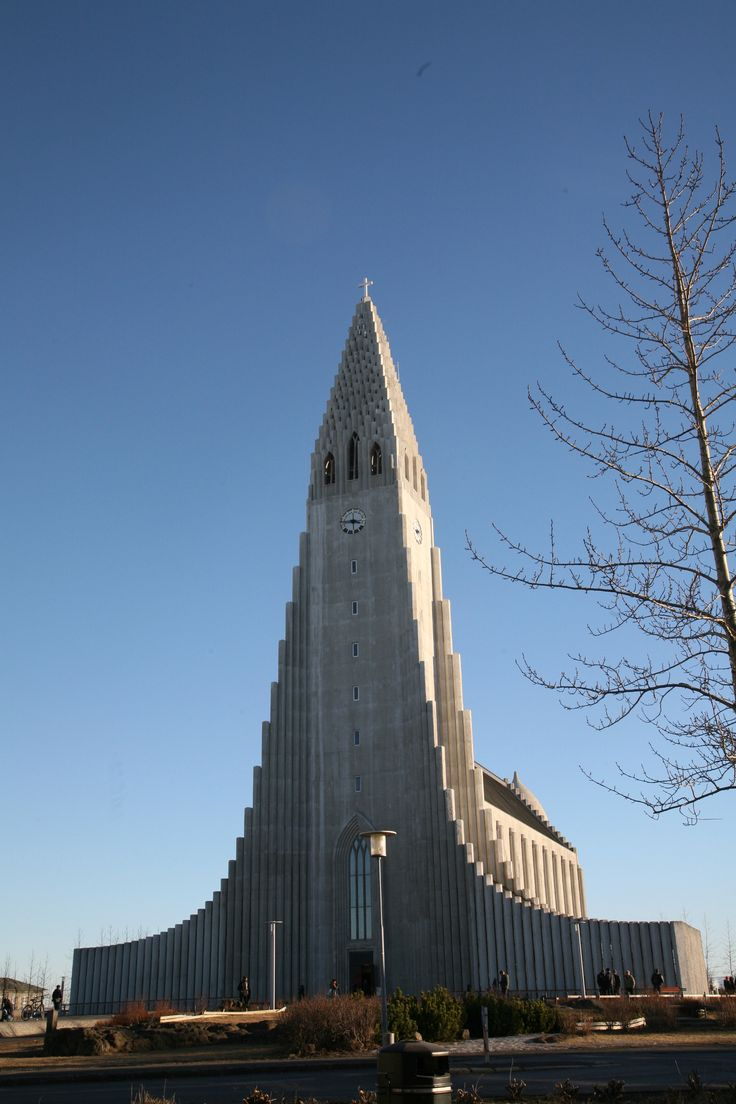 Nature? Hallgrímskirkja church is Reykjavík's main landmark and its tower can be seen from almost everywhere in the city
