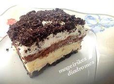 Γλυκό ψυγείου με μπισκότα Ορέο