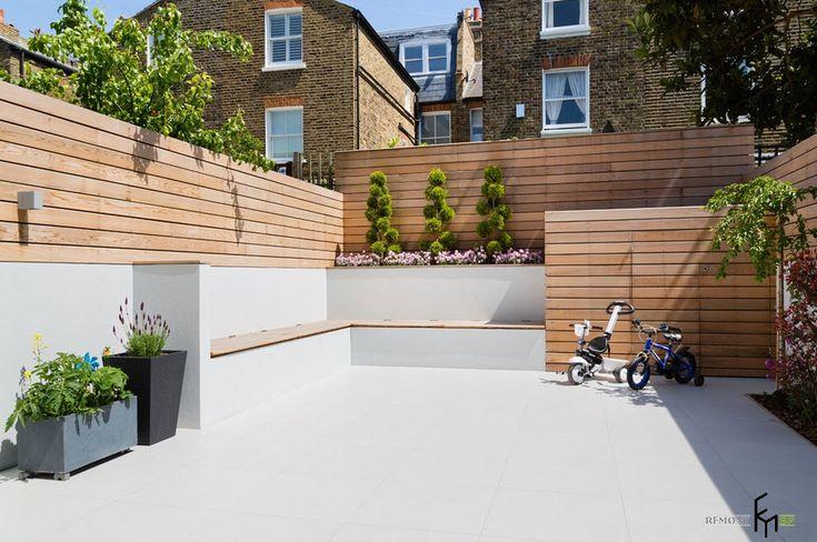 Современный двор частного дома: идеи обустройства