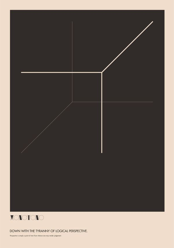 Monotono - The Absurdity of Form. Poster Study. by Ryan Atkinson, via Behance