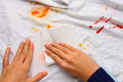 como tirar manchas de tinta das roupas