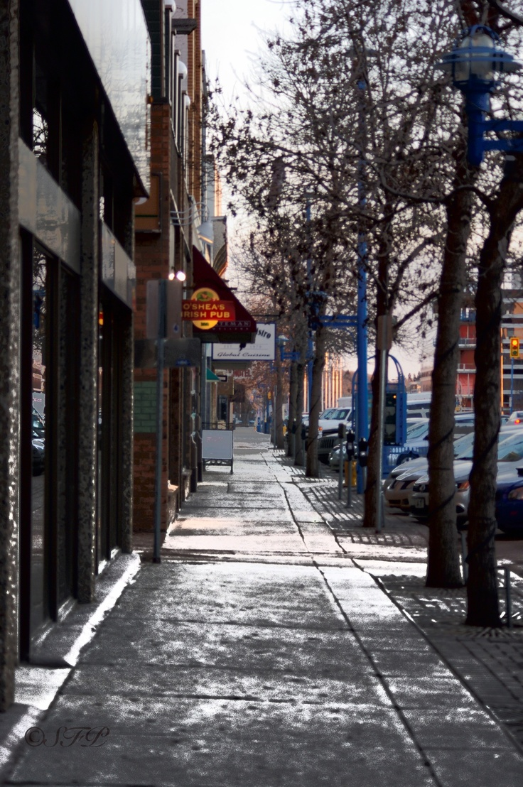 2nd ave, Saskatoon, Sask. in Canada--great street view of downtown